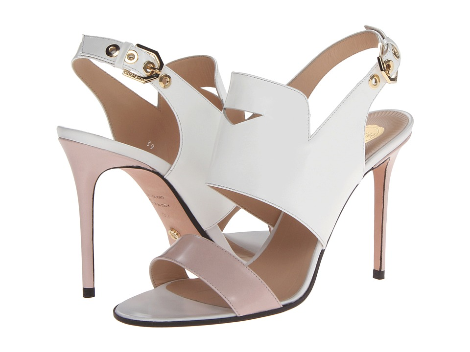 Viktor & Rolf - S49WP0121 SX8362 (White/Soft Pink) High Heels
