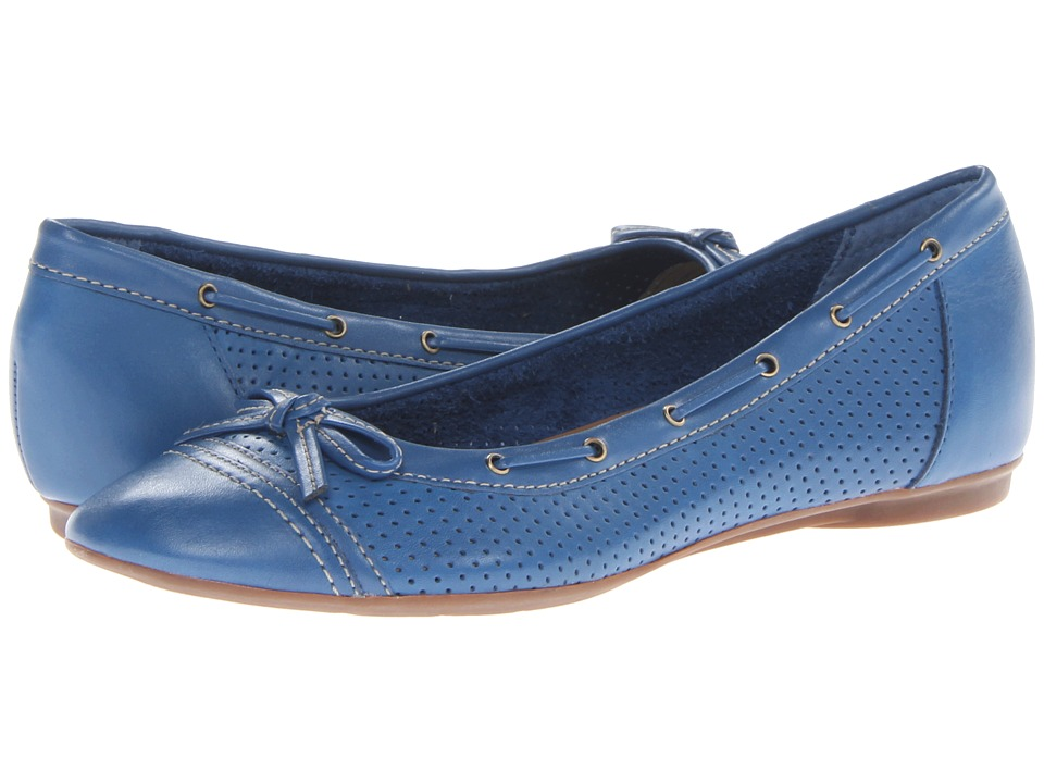 Clarks - Poem Cottage (Blue) Women's Flat Shoes