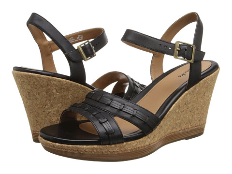 Clarks - Pitch Cocoa (Black) Women's Sandals