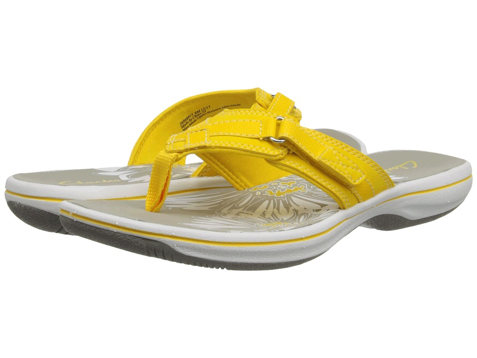 Clarks - Breeze Sea (Yellow) Women's Sandals