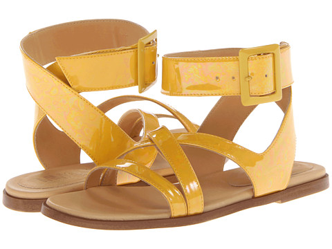MM6 Maison Margiela - S40WP0044SX8347 173 (Yellow) Women's Sandals