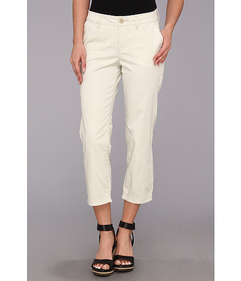 Jag Jeans - Cora Slim Crop Fine Line Twill (Beach Sand) Women's Casual Pants
