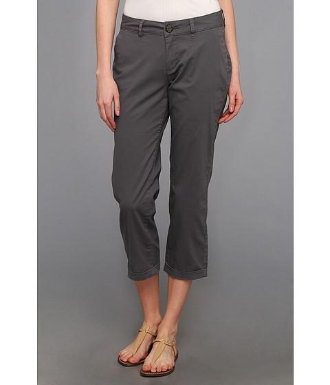Jag Jeans - Cora Slim Crop Fine Line Twill (Grey Stone) Women's Casual Pants