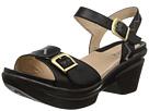 Sanita Sedona (Black Polished Leather)