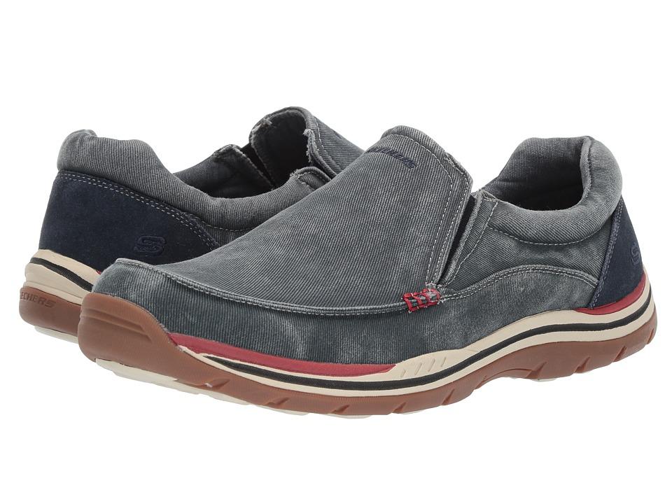 SKECHERS - Expected - Avillo (Navy) Men's Shoes