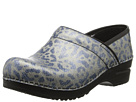 Sanita Professional Bobbie (Light Blue Cheetah Printed Leather)