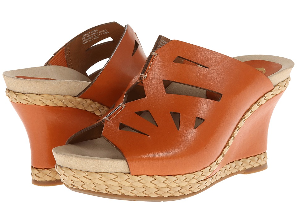 Earthies - Setina (Apricot Full Grain Leather) Women's Shoes