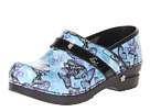Sanita Hanna by Koi (Blue Printed Patent Leather)