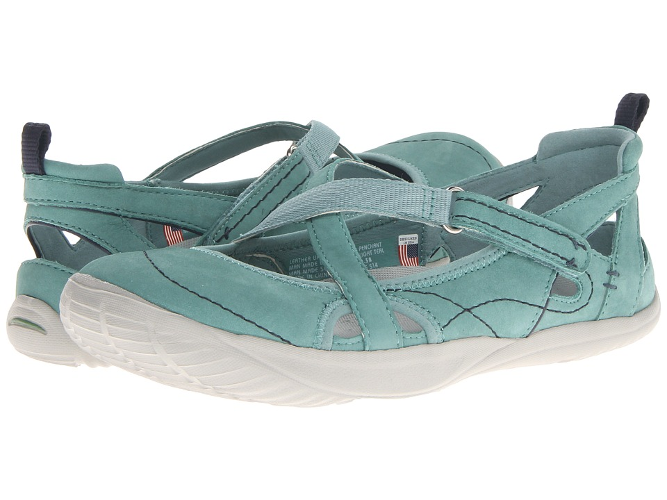Kalso Earth - Penchant (Light Teal Nubuck) Women