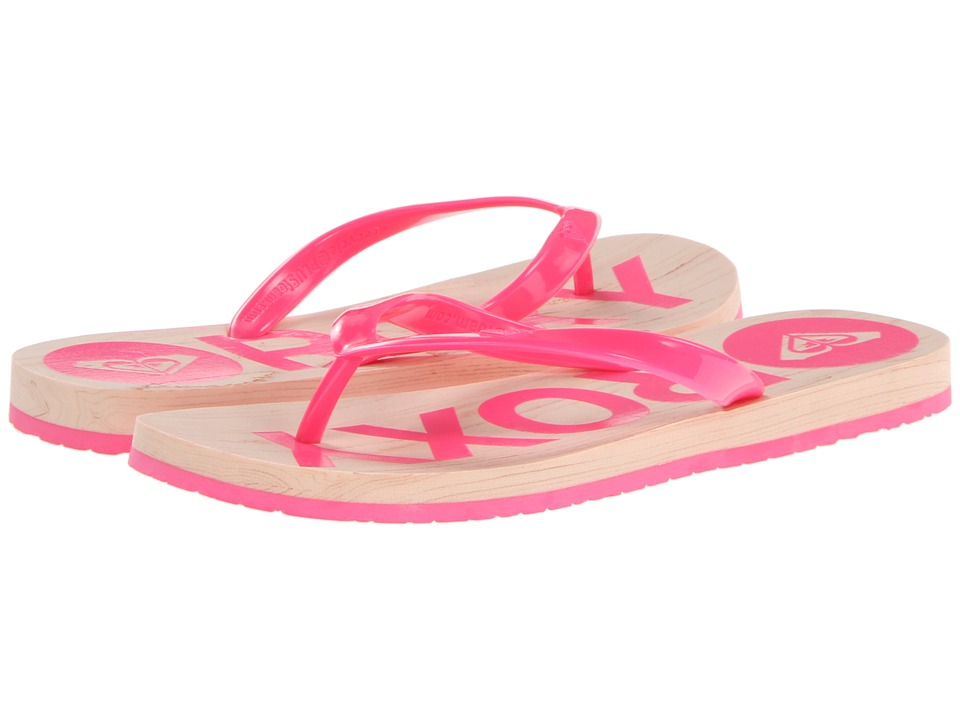 Roxy - Kiwi (Hot Pink) Women's Sandals