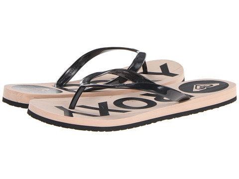 Roxy - Kiwi (Black) Women's Sandals