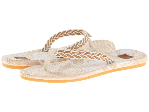 Roxy - Waikiki (White) Women's Sandals