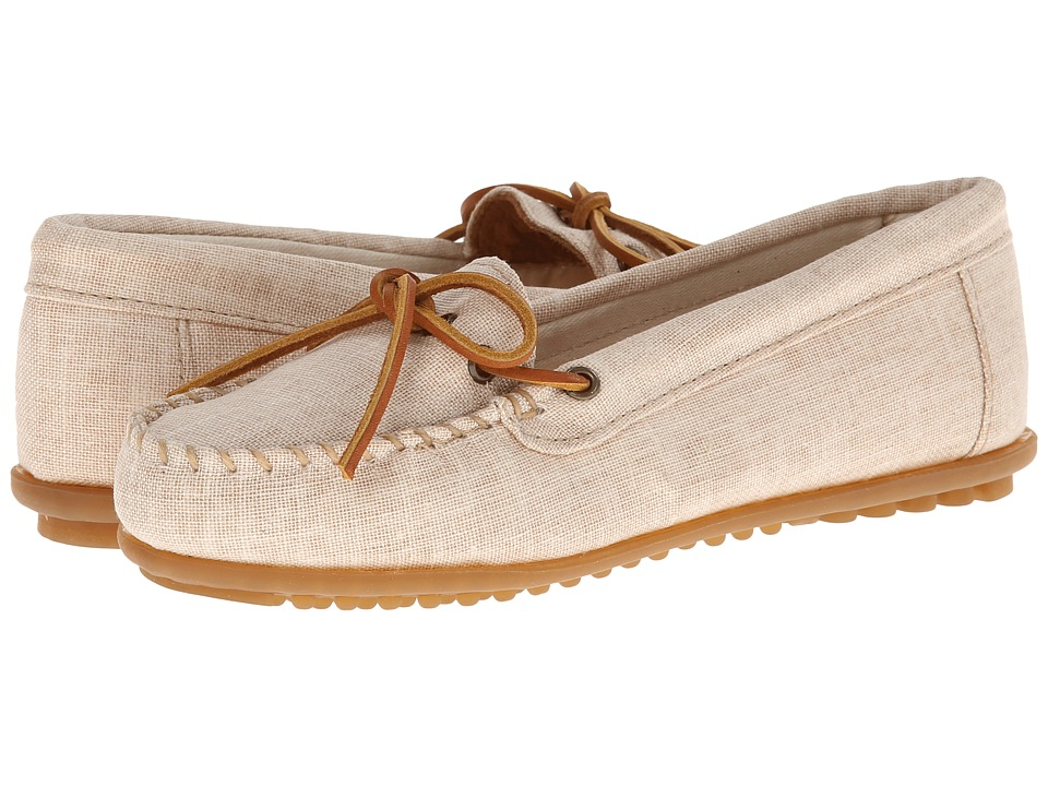 Minnetonka Canvas Moc (Natural Canvas) Women