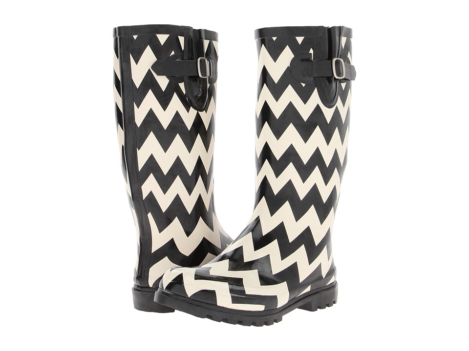 NOMAD - Puddles (Black/White Chevron) Women