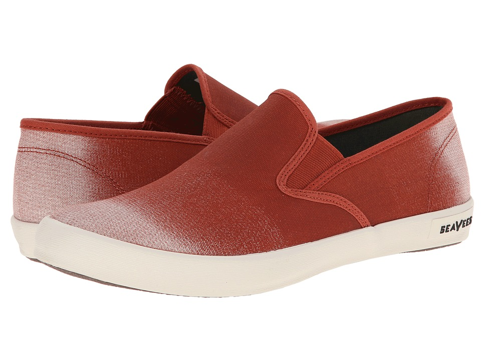 SeaVees - 02/64 Baja Slip On Dip Dye (Cayenne) Men's Slip on Shoes