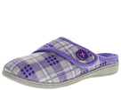 VIONIC with Orthaheel Technology Shawn Slipper (Grey Plaid)