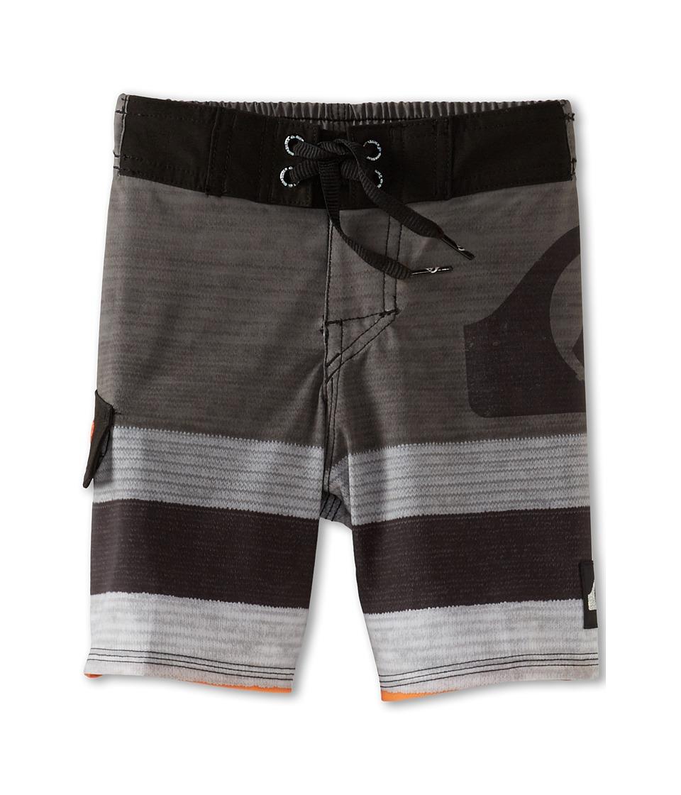 Quiksilver Kids Slater Boardshort Boys Swimwear (Black)