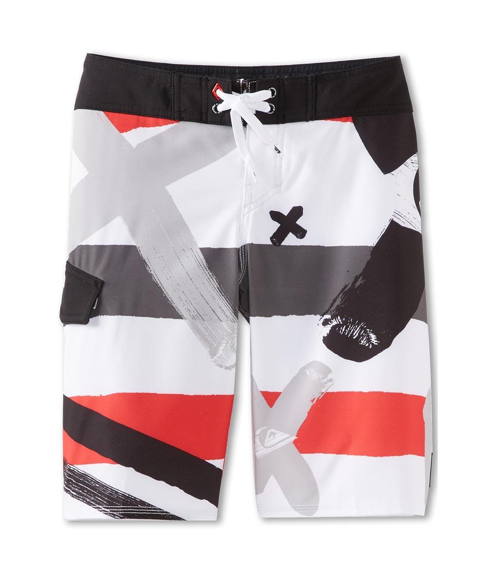 Quiksilver Kids A Little Tude Boardshort Boys Swimwear (White)