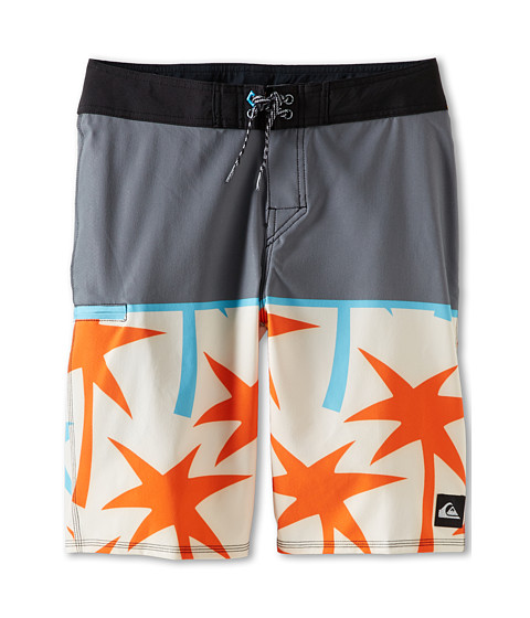 Quiksilver Kids - Young Guns Boardshort (Big Kids) (Metal) Boy's Swimwear