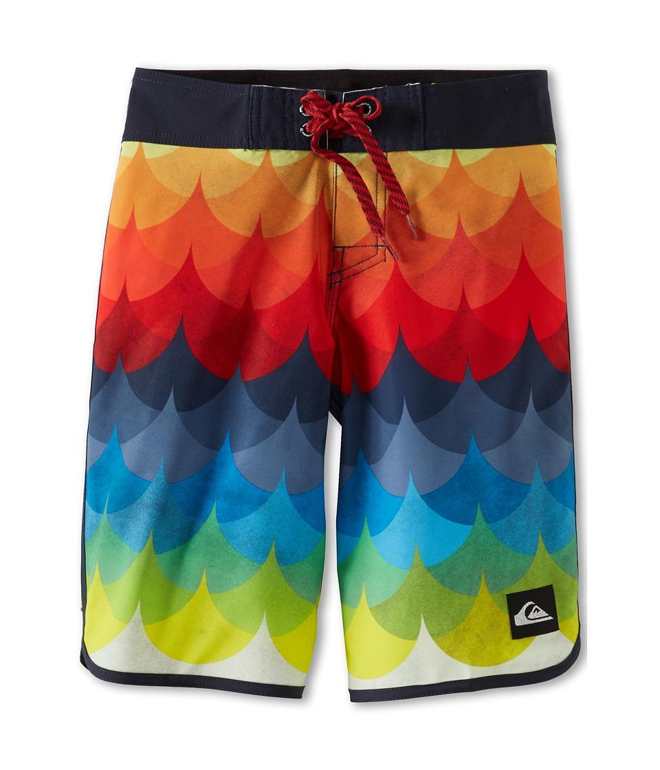 Quiksilver Kids Charade Boardshort Boys Swimwear (Red)