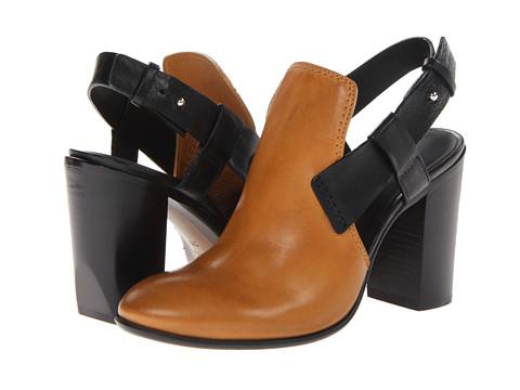 CoSTUME NATIONAL - 30122 24050 (Black/Tan) High Heels