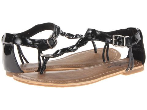 Minnetonka - Fiesta (Black Patent Lizard Print) Women's Sandals