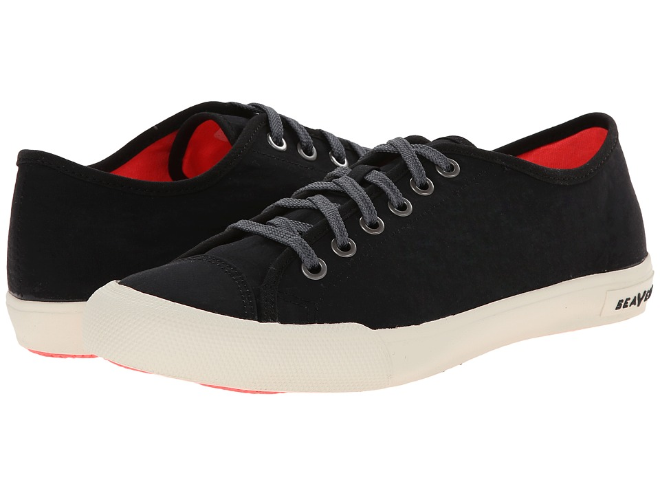 SeaVees - 08/61 Army Issue Low Nylon (Black) Women's Shoes