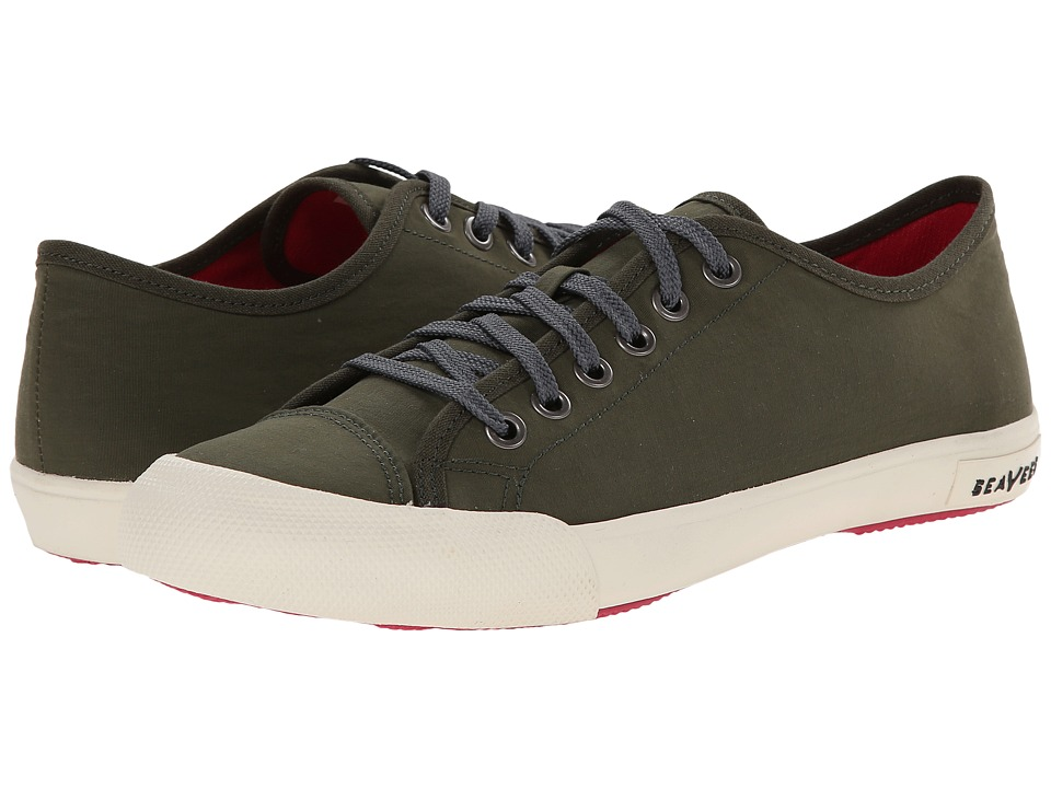 SeaVees - 08/61 Army Issue Low Nylon (Olive) Women's Shoes