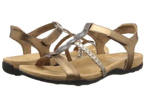 Minnetonka - Lakeshore (Bronze/Gold/Pewter Leather/Antique Silver) Women