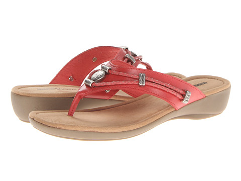 Minnetonka - Silverthorne Thong (Coral Leather) Women