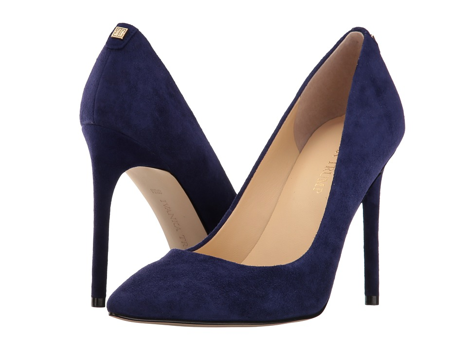 Ivanka Trump Kayden 4 (Dark Blue Suede) High Heels
