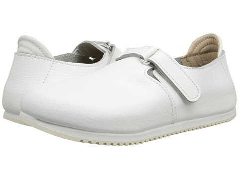 Birkenstock - Linz Super Grip (White Leather) Shoes