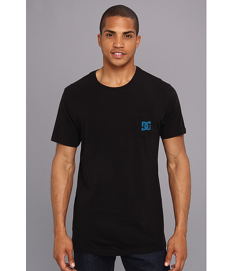 DC - Chest Star Tee (Black 1) Men's T Shirt