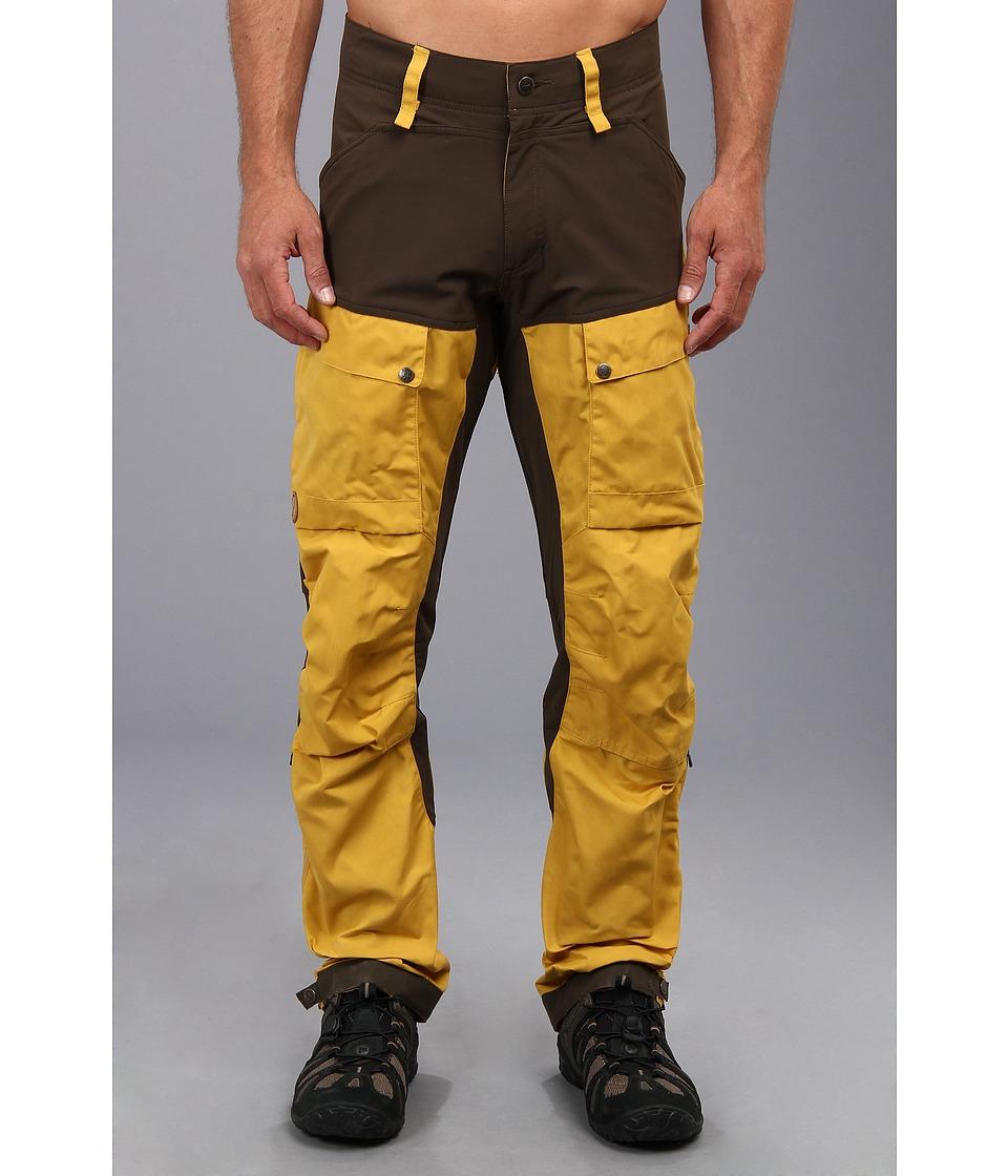 Fj llr ven - Keb Trousers (Ochre) Men's Casual Pants