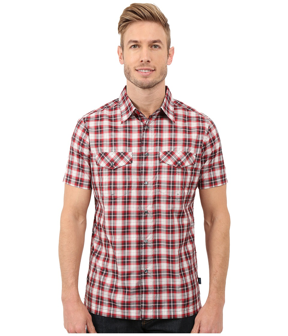 Kuhl - Rumblr (Rio Red) Men's Short Sleeve Button Up