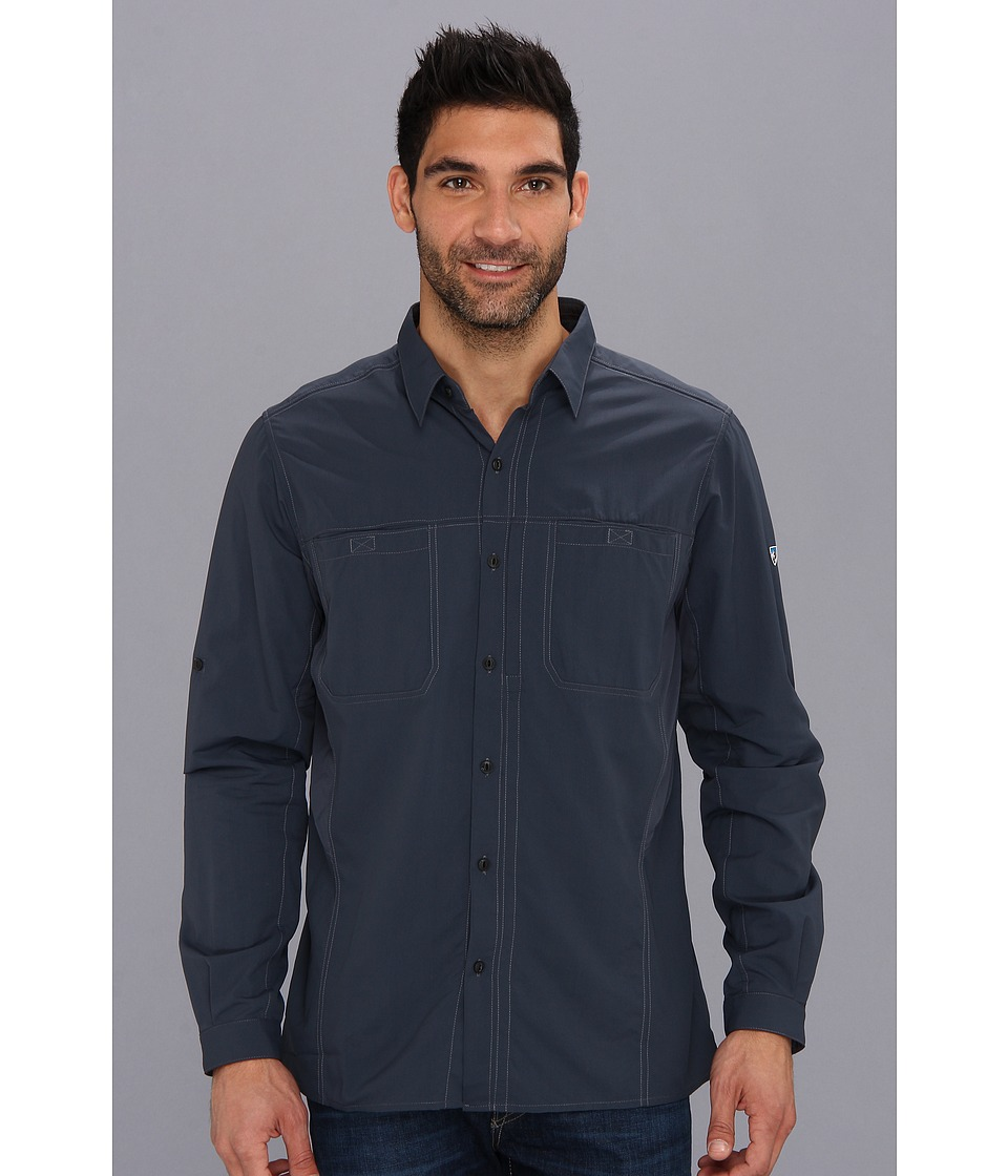 Kuhl - Wunderer (Pirate Blue) Men's Long Sleeve Button Up