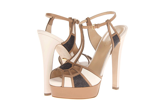 Sergio Rossi - Puzzle Basic (Var.Camel) High Heels