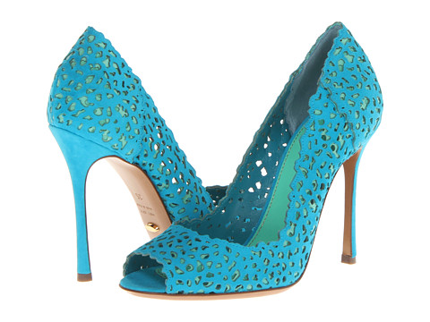 Shop Sergio Rossi online and buy Sergio Rossi - Godiva Blunt (Var.Aquamarine) High Heels shoes online