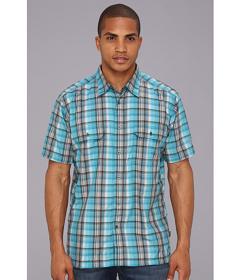 Kuhl - Response (Skuba Blue) Men's Short Sleeve Button Up