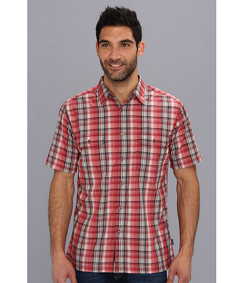 Kuhl - Response (Rio Red) Men's Short Sleeve Button Up