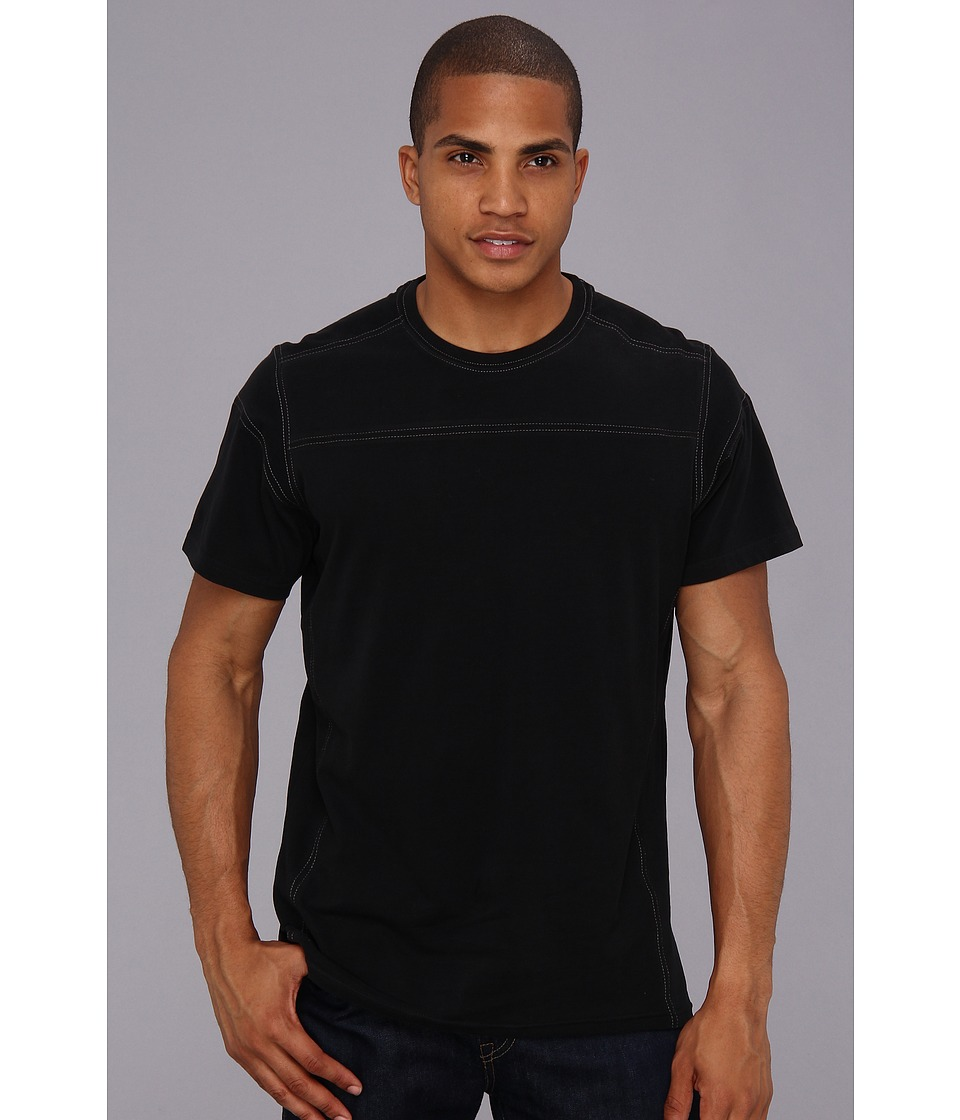 KUHL - Blast S/S Shirt (Raven) Men's Clothing