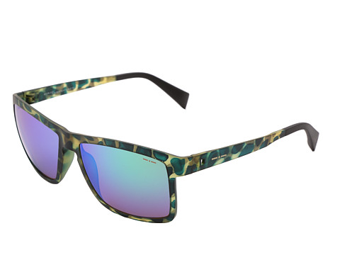 Italia Independent - 0113 (Havana Green) Fashion Sunglasses