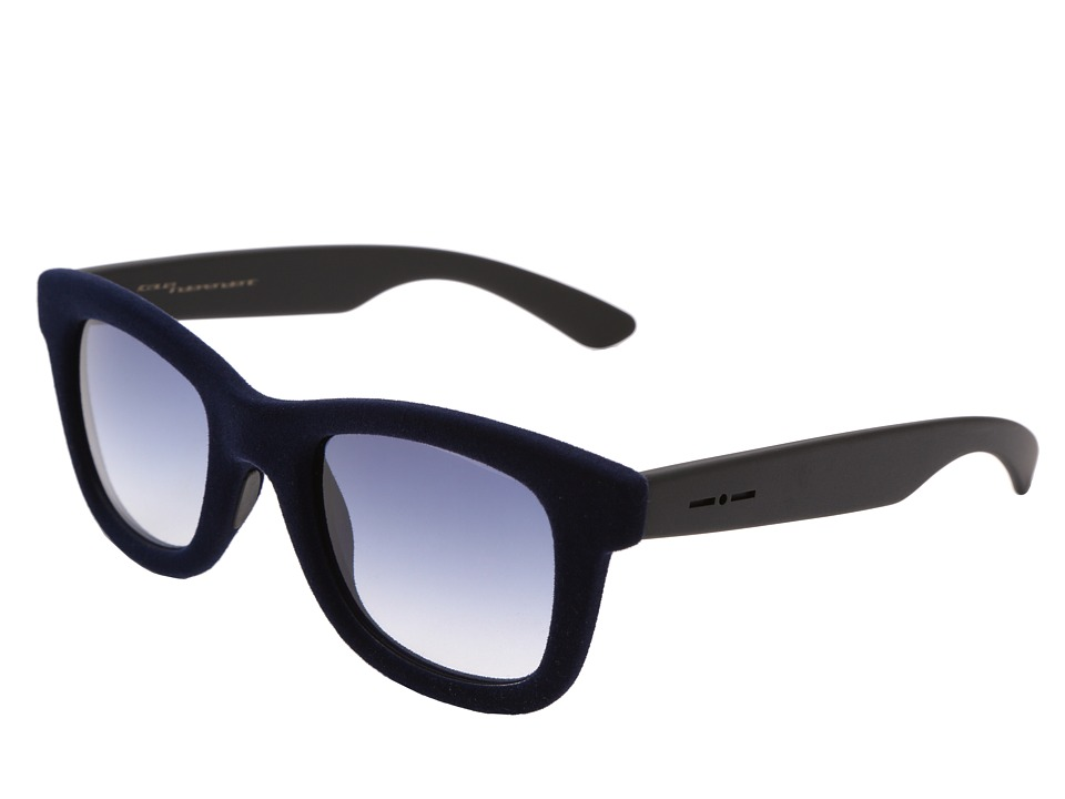 Italia Independent - 0090V (Dark Blue Velvet) Fashion Sunglasses