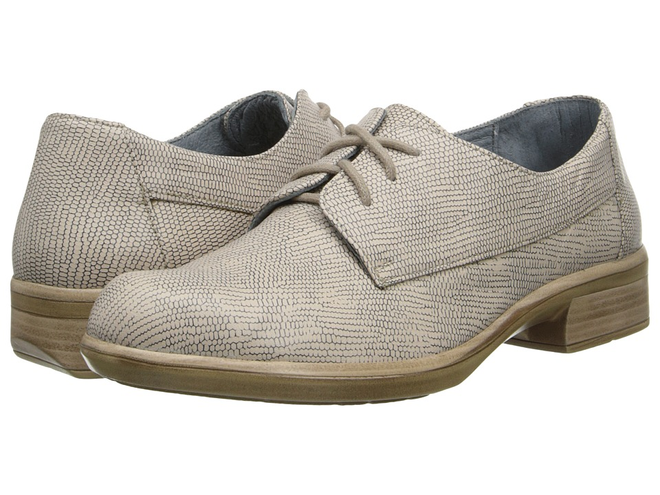 Naot Footwear - Kedma (Colonial Beige Leather) Women's Lace up casual Shoes