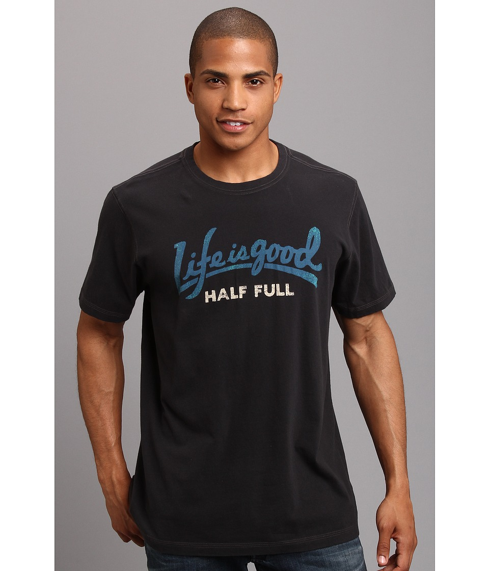 Life is good - LIG Creamy Tee (Night Black 2) Men