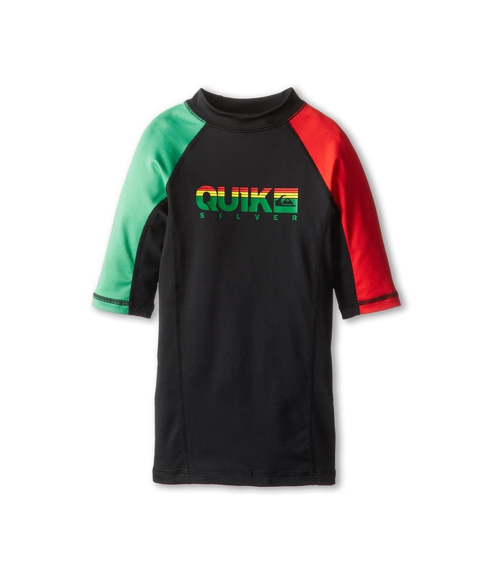 Quiksilver Kids Extra S/S Surf Shirt Boys Swimwear (Red)