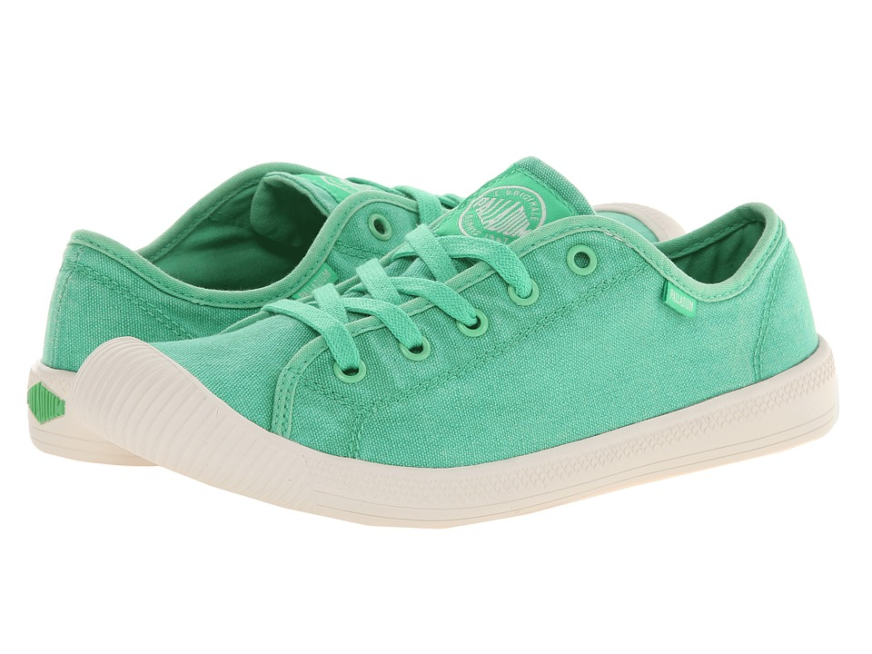 Palladium - Flex Lace (Irish Green/Marshmallow) Women