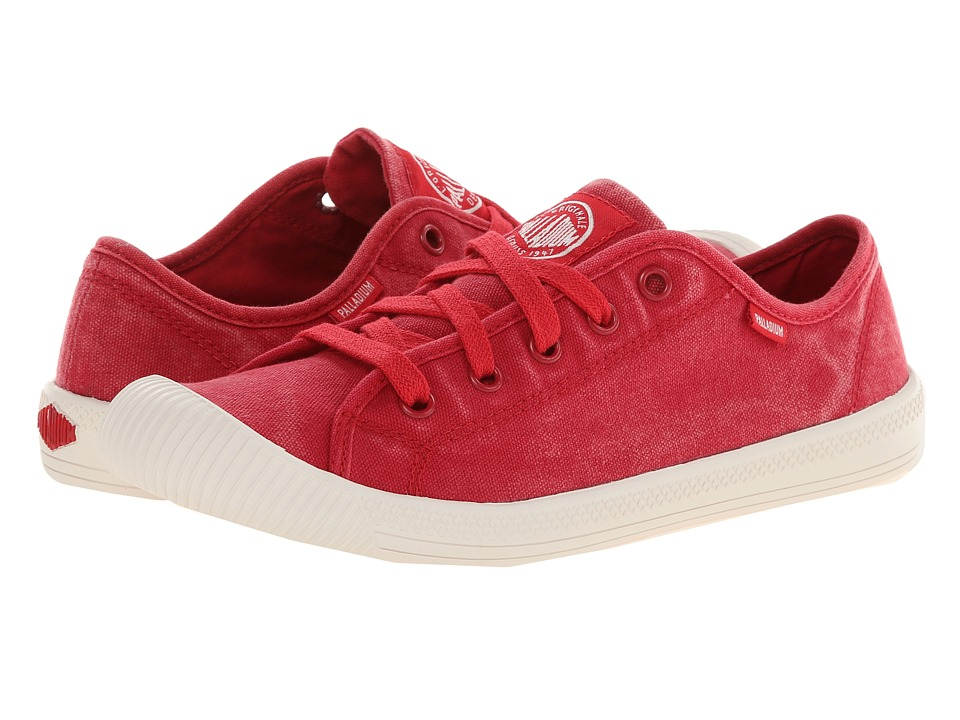 Palladium - Flex Lace (Red/Marshmallow) Women's Lace up casual Shoes