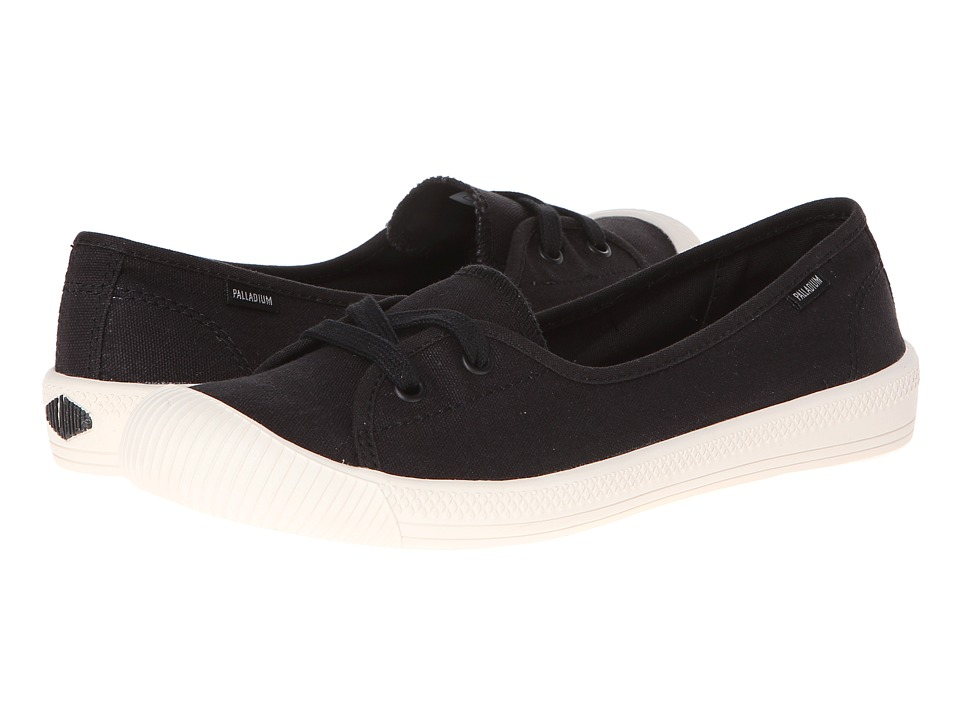 Palladium - Flex Ballet (Black/Marshmallow) Women's Shoes