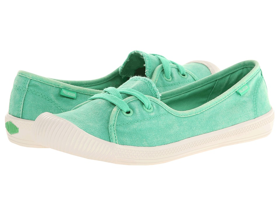Palladium - Flex Ballet (Irish Green/Marshmallow) Women's Shoes